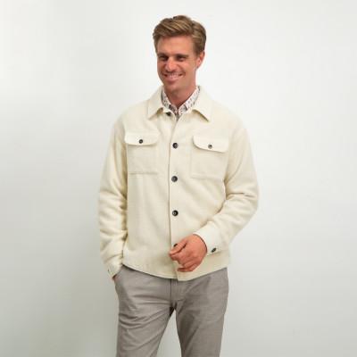 Modern-Classics-shirt-with-flap-pockets---cream-plain