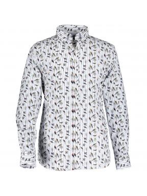 Hemd,-Vogeldruck