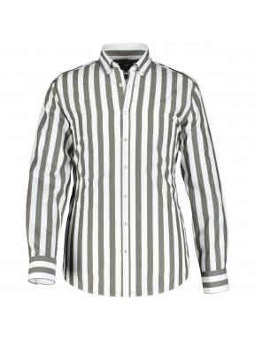 Hemd,-Streifen,-Baumwolle