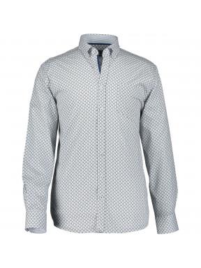 Hemd,-Druck,-langarm