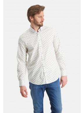 Shirt-with-a-flower-print---cobalt/mango