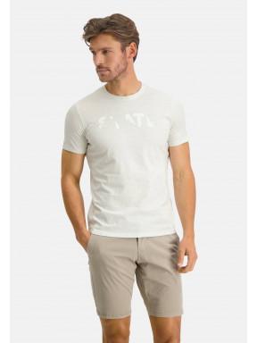 T-Shirt-Crew-Neck-Plain---greige-plain