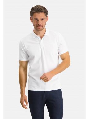 Poloshirt,-Piqué,-regular-fit---weiß-uni