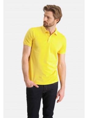 Poloshirt,-Piqué,-regular-fit---hellgelb-uni