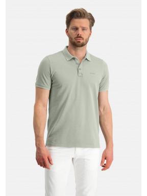 Poloshirt,-Piqué,-regular-fit---blattgrün-uni