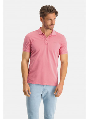 Poloshirt,-Piqué,-regular-fit---rosa-uni