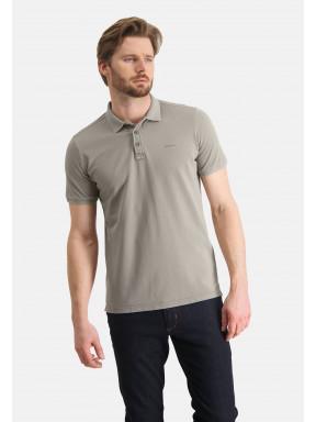 Poloshirt,-Piqué,-regular-fit---hellbraun-uni