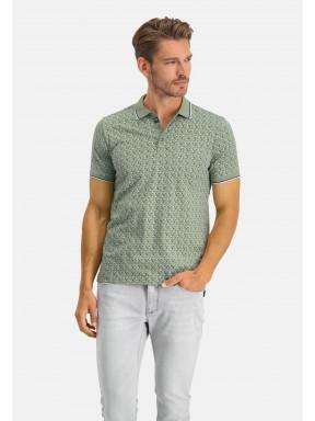 Poloshirt-Jersey-Short-Sleeve-Print---emerald-green/cobalt