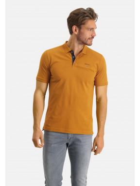 Poloshirt,-Piqué,-Pima-Baumwolle---mango-uni