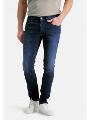 5-Pocket,-modern-fit,-Stretch-Jeans---kobalt-uni