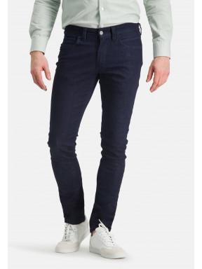 5-Pocket-stretchjeans-met-modern-fit---donkerblauw-uni
