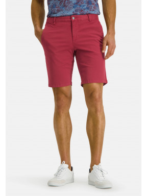 Short-in-chino-look---wijnrood/uni