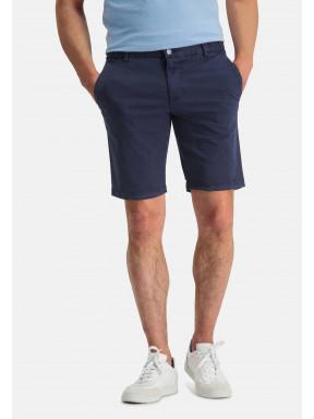 Shorts,-Chino-Look---dunkelblau-uni