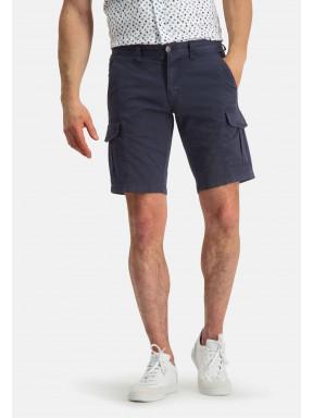 Shorts,-Cargo-Look---dunkelblau-uni