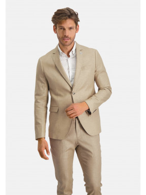 Modern-Classics-blazer-of-a-linen-blend---sand-plain