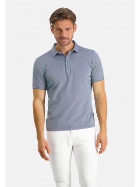Modern-Classics-Poloshirt,-kurzarm---kobalt/weiß