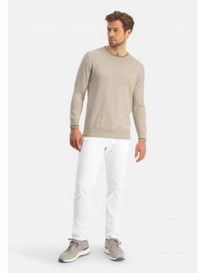 Modern-Classics-Pullover,-Feinstrick---hellbeige-uni