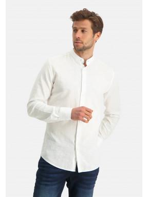 Modern-Classics-shirt-of-a-linen-blend---white-plain