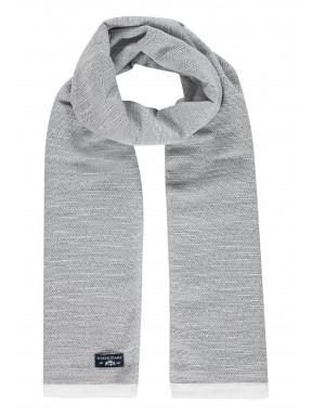 Écharpe-imprimé---blanc/blanc-gris