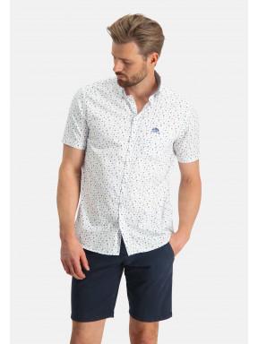 Shirt-Print---white/cream