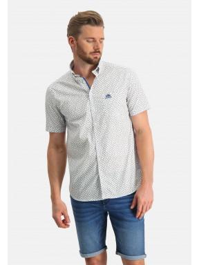 Shirt-Print---white/sand