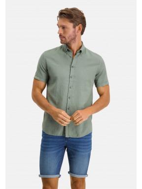 Shirt-Plain---moss-green-plain