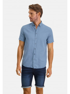 Shirt-Plain---grey-blue-plain