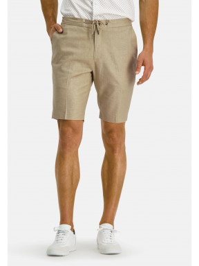 Modern-Classics-stretch-shorts-of-a-linen-blend