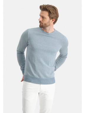 Cotton-jumper-with-crew-neck