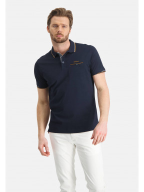 Polo-of-mercerized-cotton