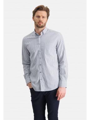 Overhemd-met-streepdessin
