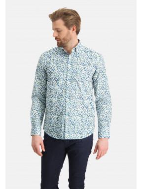 Overhemd-met-een-botanische-print
