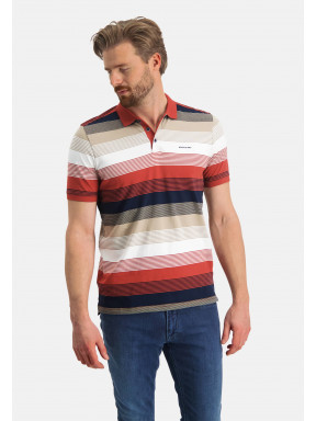 Striped-polo-of-organic-cotton