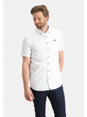 Effen-overhemd-met-button-down