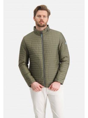 Manteau-doublé-à-regular-fit