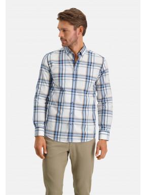 Katoenen-overhemd-met-ruitpatroon