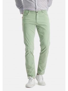 Pantalon-stretch-à-regular-fit
