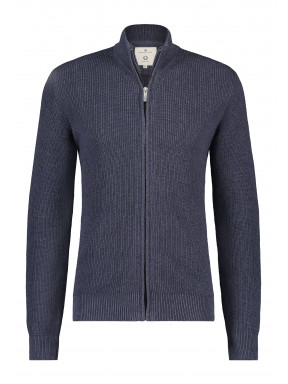 Cardigan-of-blended-recycled-cotton