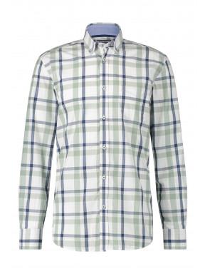 Geruit-overhemd-van-100%-katoen