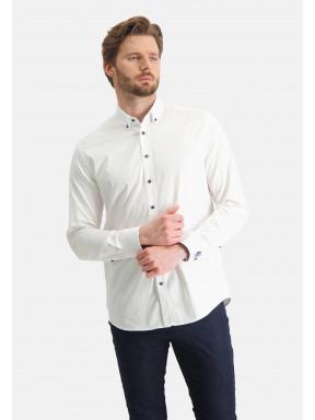 Stretch-overhemd-van-katoen