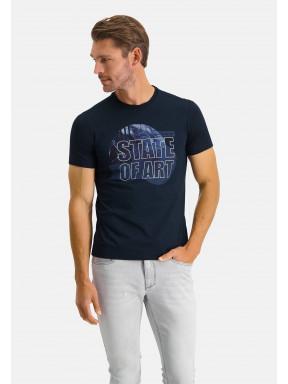 Mercerized-T-shirt-with-crew-neck