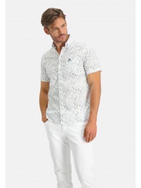 Bedrukt-overhemd-van-katoen-stretch