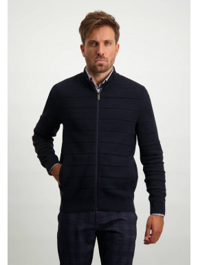 Cotton-cardigan-with-side-pockets---midnight/navy