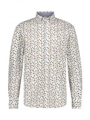 Poplin-organic-cotton-shirt---brick/mango