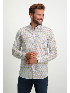 Organic-cotton-shirt---dusty-pink/sepia