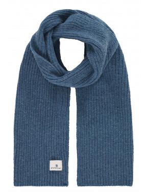 Scarf-plain---grey-blue-plain
