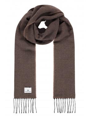 Effen-sjaal-met-lange-franjes---sepia/donkerantraciet
