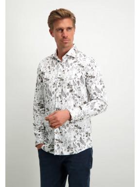 Modern-Classics-overhemd-met-botanische-print---wit/zilvergrijs