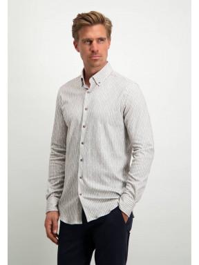 Modern-Classics-overhemd-met-print---wit/zilvergrijs
