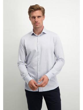 Modern-Classics-overhemd-met-modern-fit---lichtblauw-uni